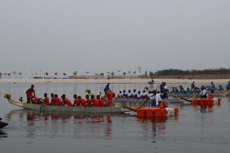 801 atlet adu ketangguhan di Kompetisi Olahraga Air TNI AL