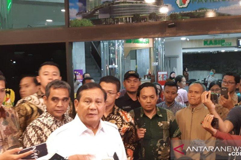 Prabowo sebut Wiranto ditusuk bukan rekayasa