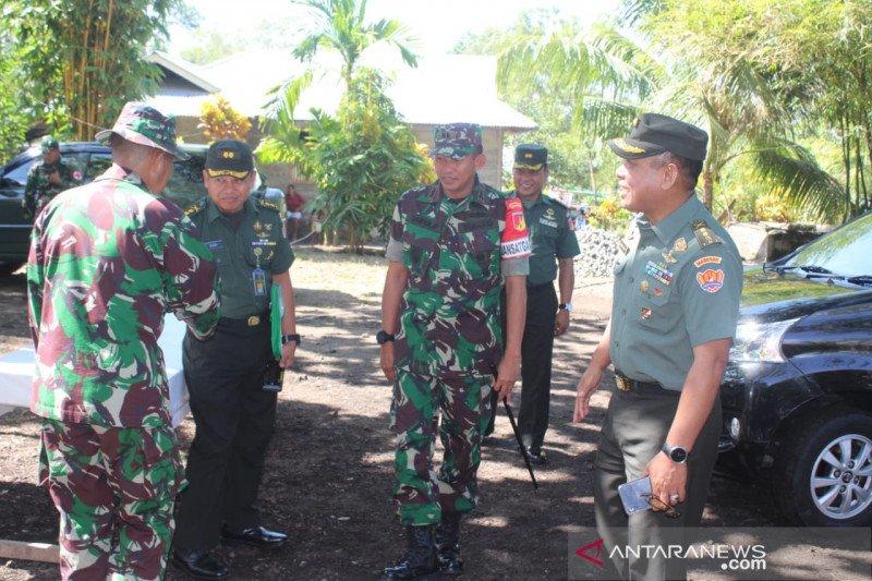 Tim Mabes TNI pantau pelaksanaan TMMD ke-106 di Kepulauan Sangihe