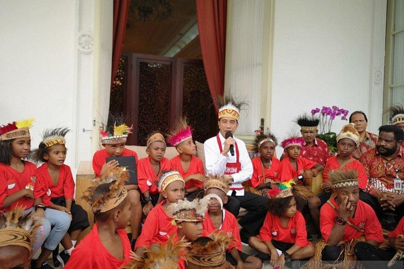 Moeldoko beberkan keberhasilan Jokowi bangun Papua dan Papua Barat