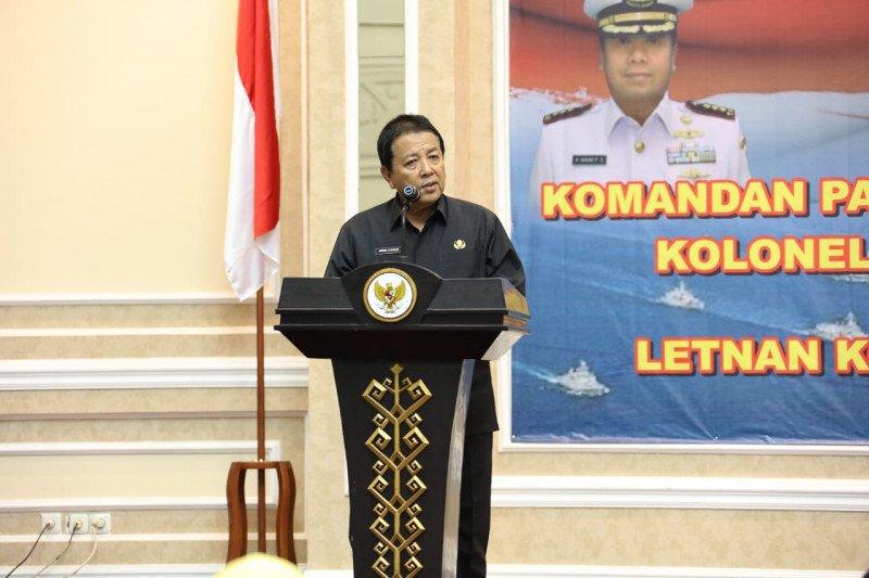 Letkol Amrul Adriansyah jabat Danlanal Lampung