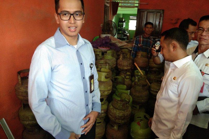 Warga keluhkan harga gas elpiji di Palangka Raya tembus Rp38.000