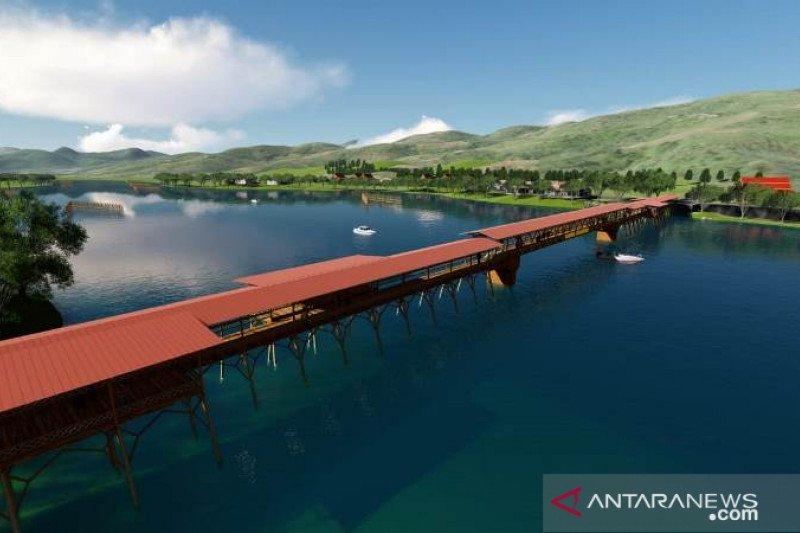 Jembatan Tentena akan direnovasi jadi objek wisata