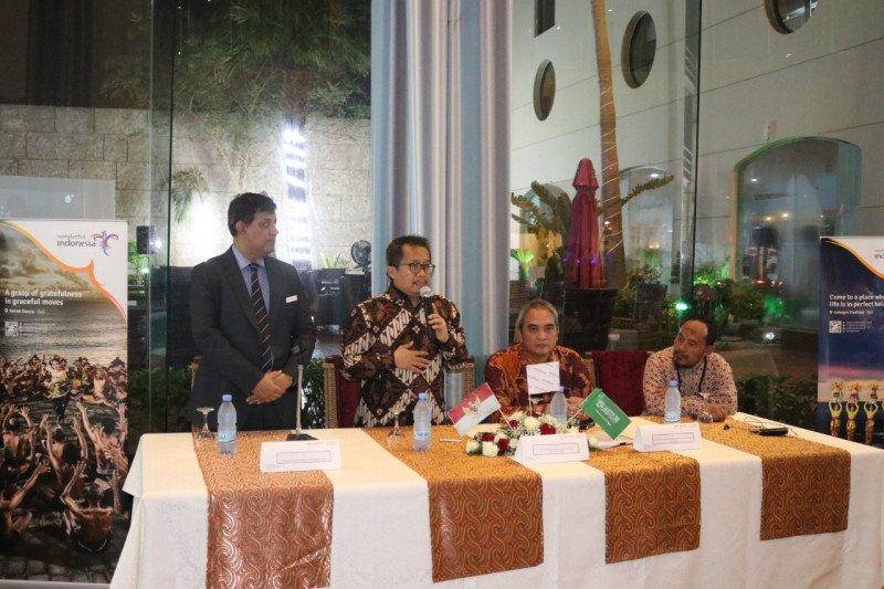 Kemenpar-KJRI-KBRI promosikan Wonderful Indonesia di Arab Saudi