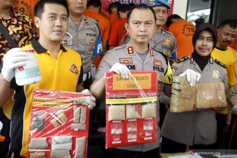 Ungkap kasus narkoba Bogor