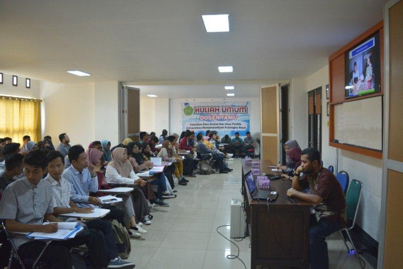 Kuliah lapangan Fisipol UM Palangka Raya analisis pascabencana karhutla-kabut asap