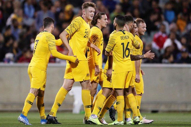 Kualifikasi Piala Dunia 2022, Australia lanjutkan catatan bagus, Kuwait tertahan
