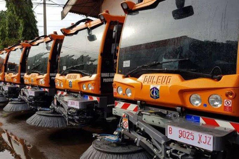 Rp4 miliar untuk dua kendaraan penyapu jalan
