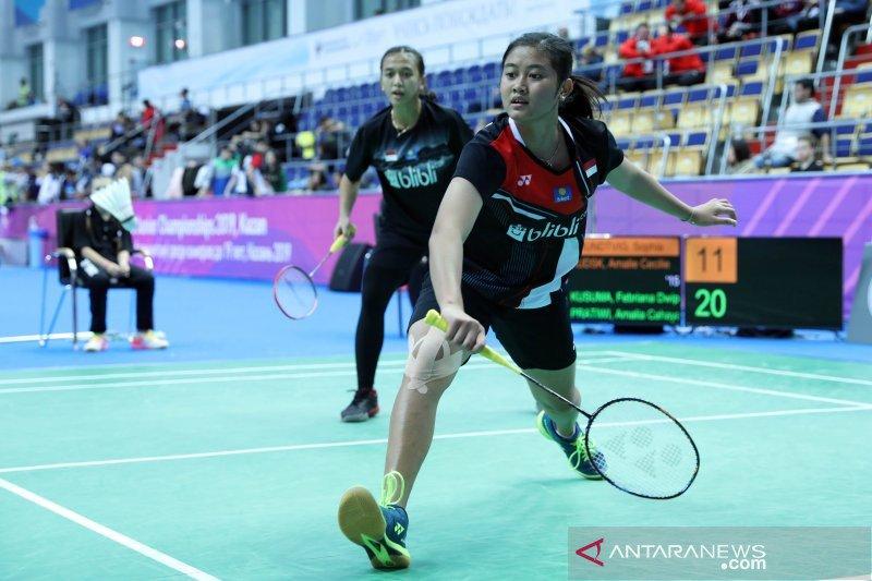 Tiga wakil Indonesia ke final Kejuaraan Dunia Junior