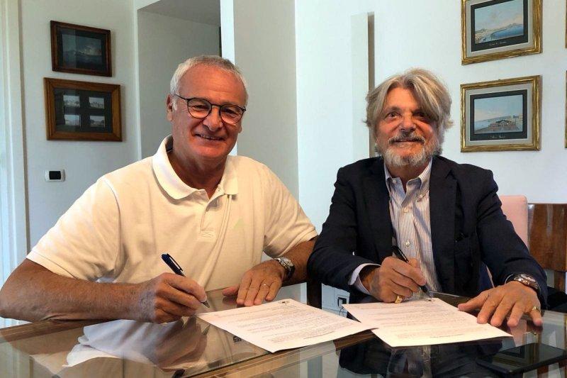 """Ranieri resmi jadi """"allenatore"""" anyar di Sampdoria"""