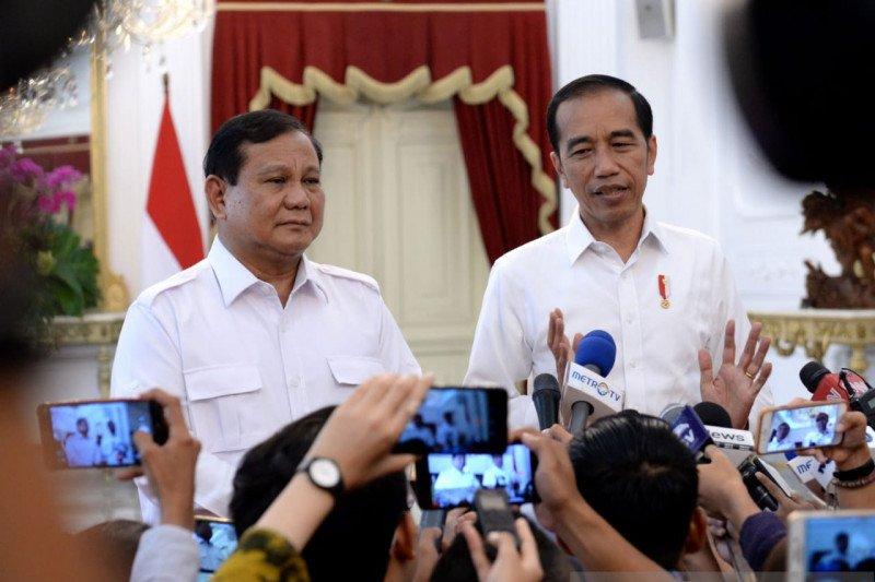 Pertemuan Jokowi-Prabowo dianggap contoh tradisi politik yang baik