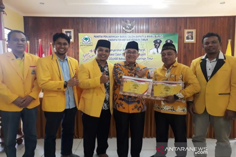 Duet birokrat provinsi dan kepala desa ramaikan persaingan pilkada Kotim