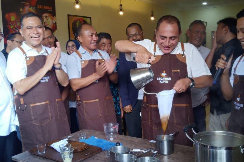 Edy Rahmayadi promosikan kopi Mandailing di Batam