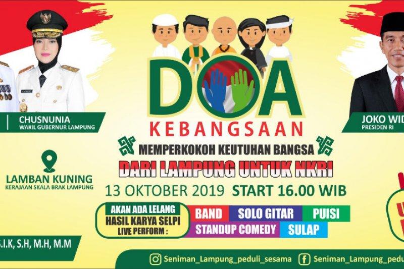 Wagub Lampung hadiri doa kebangsaan dan lelang karya seni