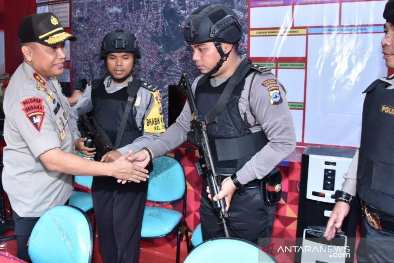 Polda Kalsel tingkatkan pengamanan kunjungan pejabat negara