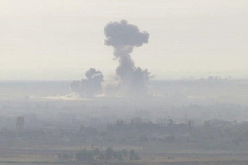 Tewaskan empat orang, bom mobil meledak di perbatasan Suriah, Turki