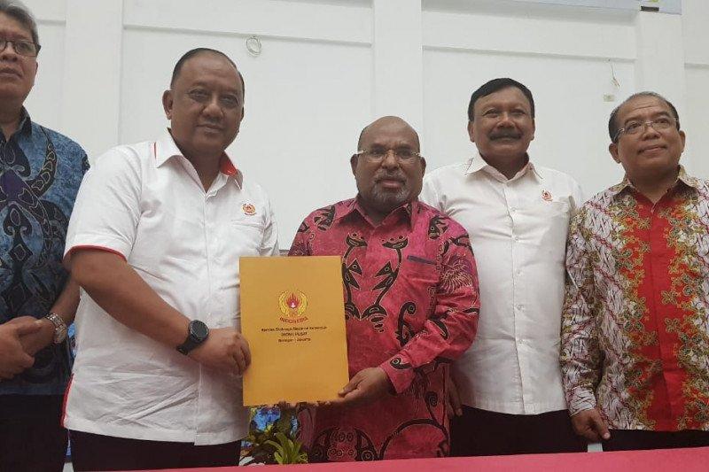 Ketua KONI Pusat Marciano teken SK 37 cabor untuk PON 2020