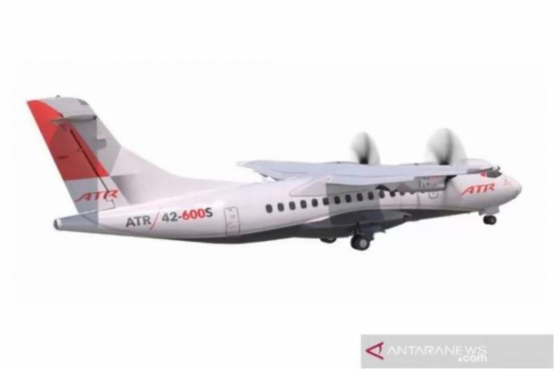 """Pesawat baru ATR 42-600S bisa di """"run way"""" 800 meter"""