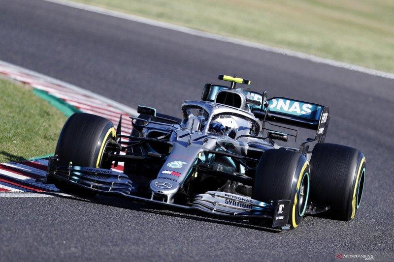 Hasil GP Jepang,  Mercedes pastikan gelar ganda keenam kali beruntun