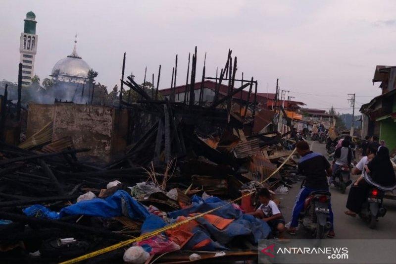 Kerugian kebakaran di Pulau Simeulue capai Rp10 miliar