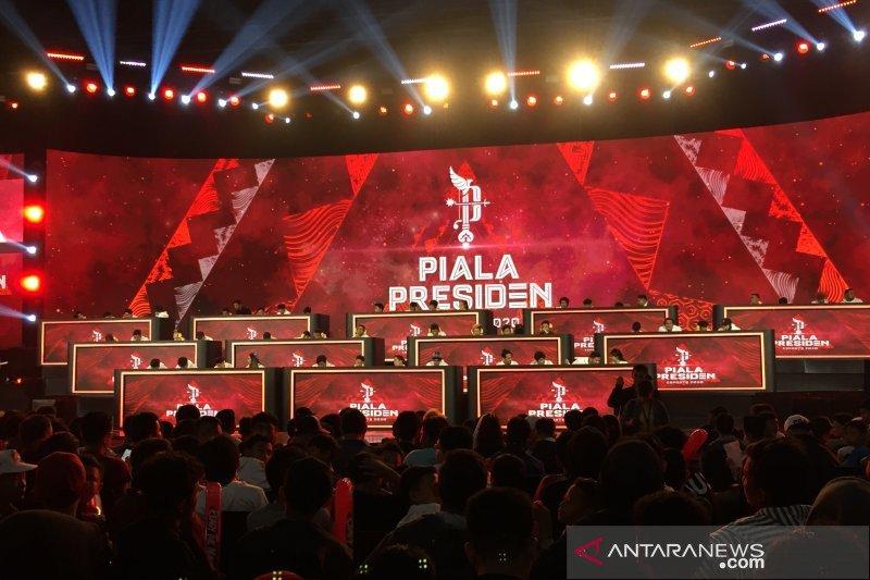 Piala Presiden Esports 2020 resmi bergulir, diikuti enam negara