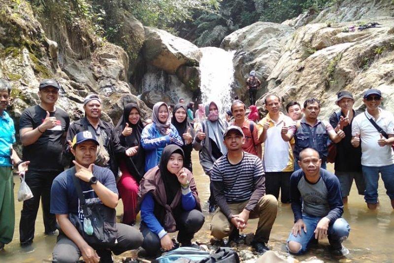 Paser miliki potensi wisata air terjun 'Beangin 7 Bidadari'