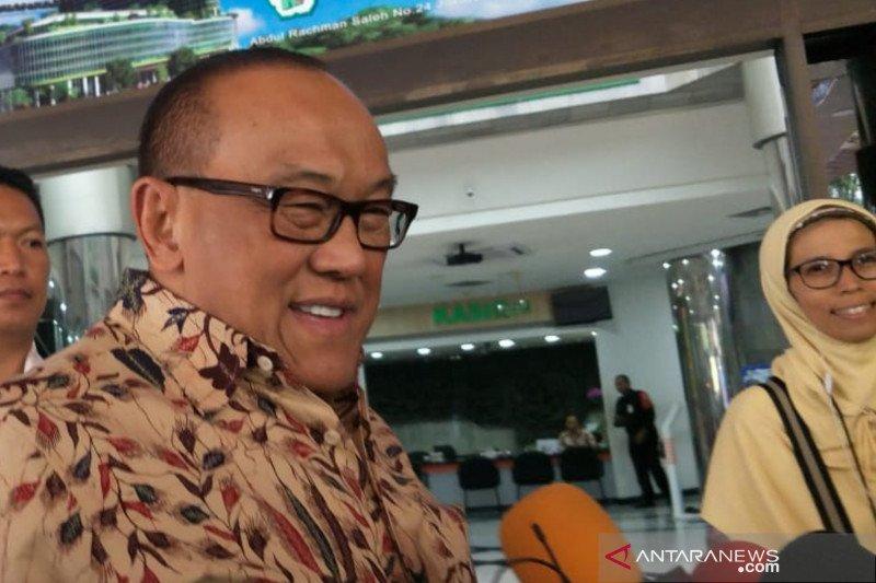 Aburizal sebut kelingking Wiranto terluka saat tangkis serangan