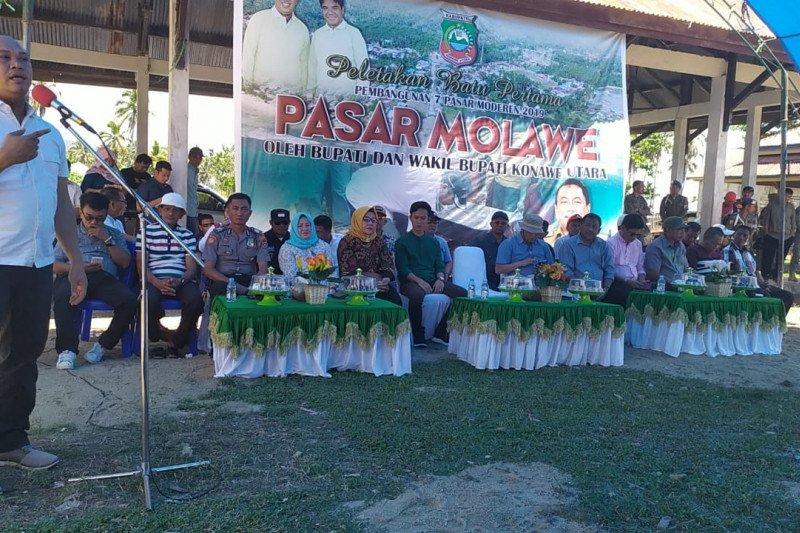 Konawe Utara Anggarkan Rp4 miliar Bangun Pasar Molawe