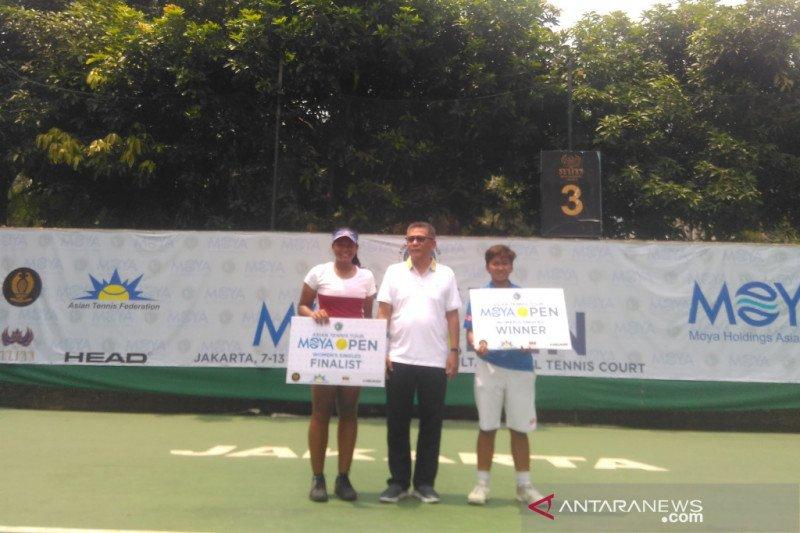Fadona jawara tunggal putri Moya Open 2019
