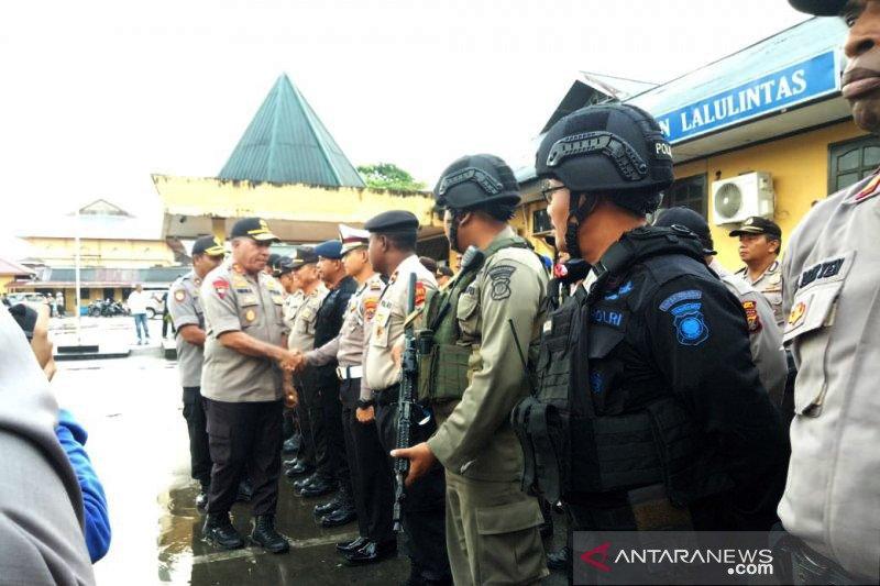 Kapolda  imbau pekerja jangan keluar dari Kota Wamena