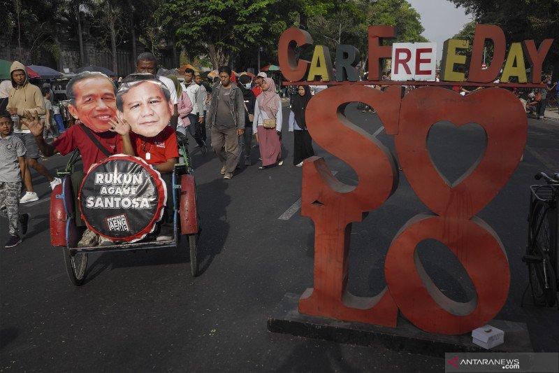 Topeng Jokowi Prabowo