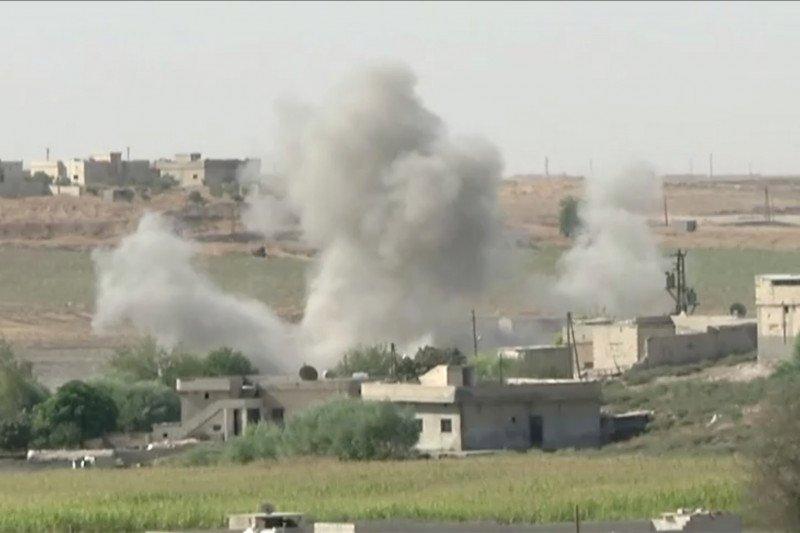 Pasukan pimpinan Turki kuasai bagian kota Suriah