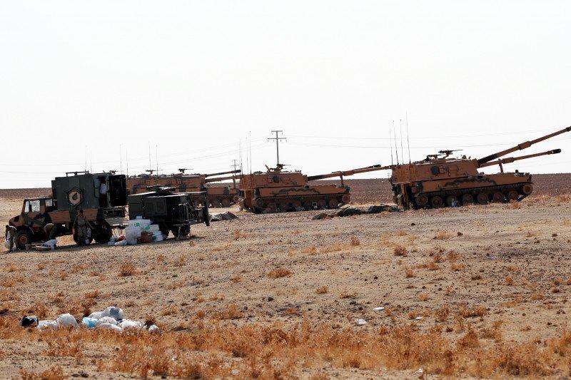 Prancis ambil langkah untuk keselamatan militernya di Suriah