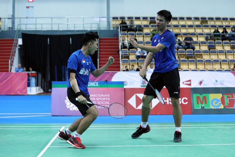 Ganda Putra Indonesia Leo/Daniel juara WJC 2019