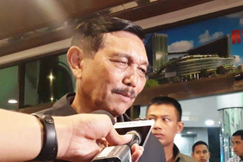 Kasus penusukan Wiranto, Luhut Pandjaitan tak takut temui masyarakat