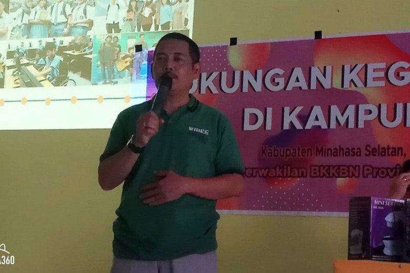 "BKKBN Sulawesi Utara harapkan program PKBR hindarkan ancaman ""TRIAD-KRR"""