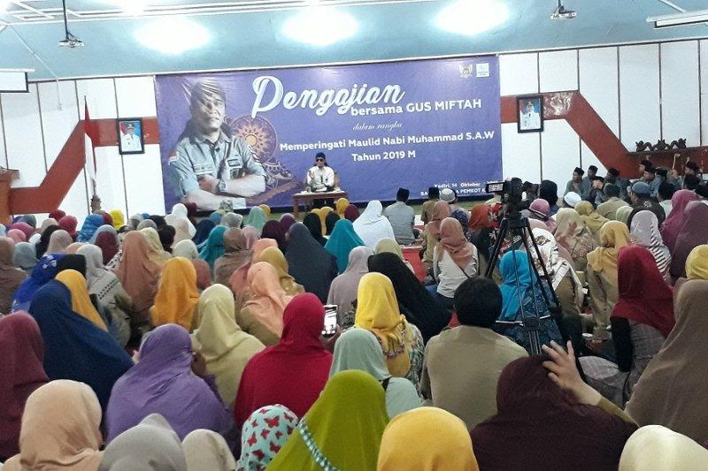 Pemkot Kediri hadirkan Gus Miftah dalam pengajian Maulid Nabi
