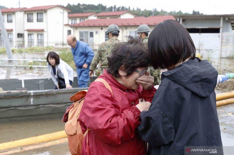 Korban tewas akibat topan di Jepang naik jadi 58