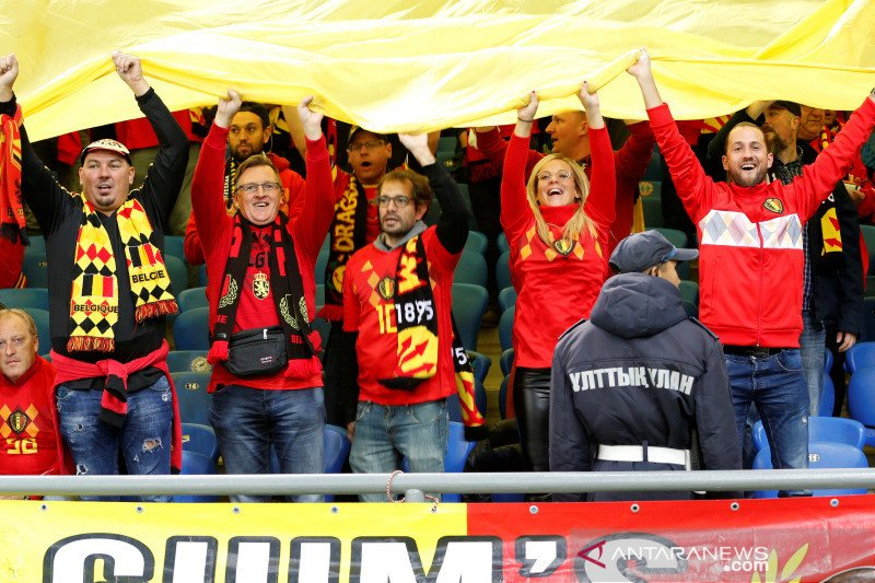 Hasil Grup I: Belgia ldidampingi Rusia, Skotlandia ke playoff