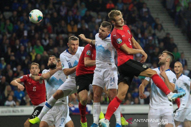 Piala Eropa 2020 - Austria permalukan Slovenia demi perbesar asa lolos