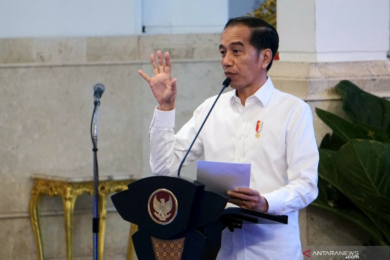 Presiden: Palapa Ring perkuat perdagangan dan perbaikan birokrasi