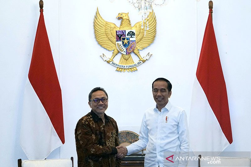 Presiden bertemu Zulkifli Hasan