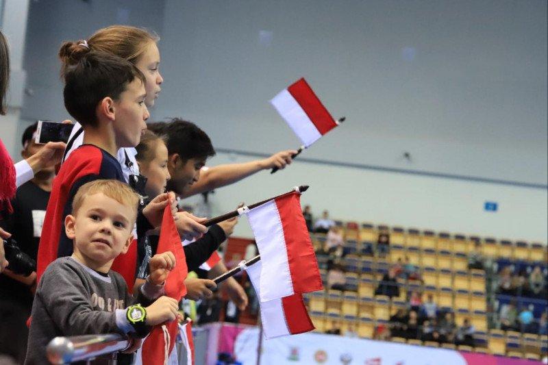 Kemenangan tim bulu tangkis Indonesia di Rusia bagian  dari diplomasi