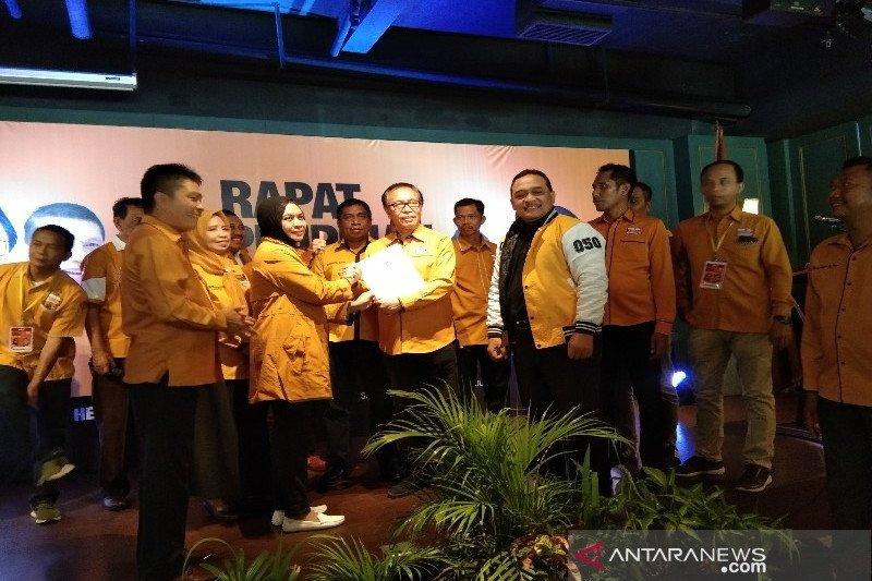 Gelar Rapimda, DPD Hanura Sultra tegaskan mendukung Oesman Sapta Odang