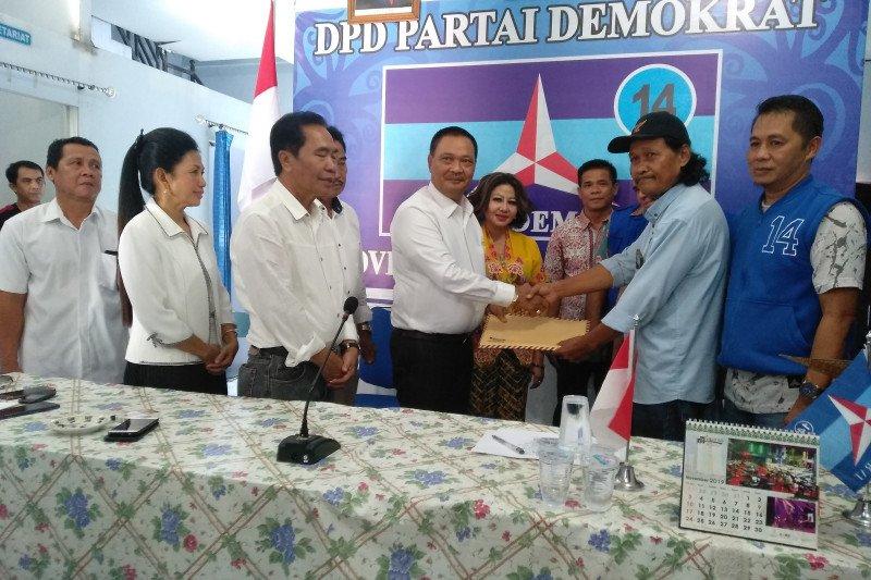 Marukan mendaftar ke Demokrat dan Nasdem maju di Pilkada Kalteng