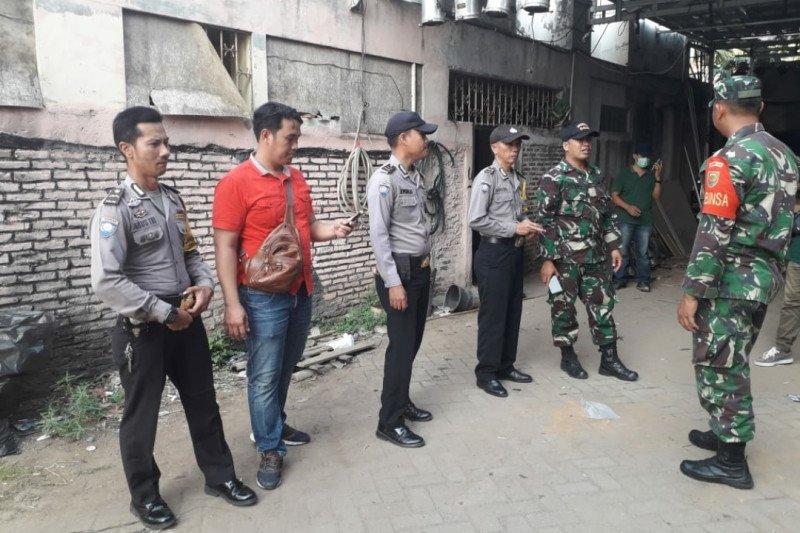 Densus 88 menangkap seorang terduga teroris di Lampung