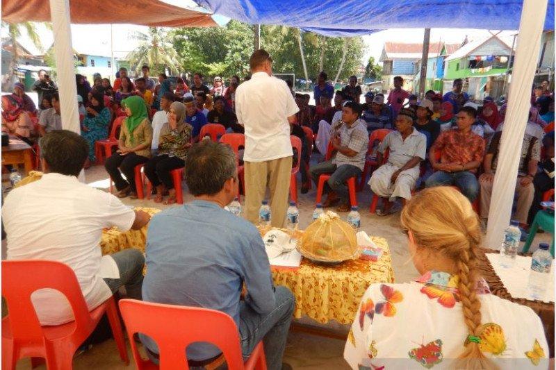 Pulau Bontosua Pangkep lokasi percontohan penyelamatan terumbu karang