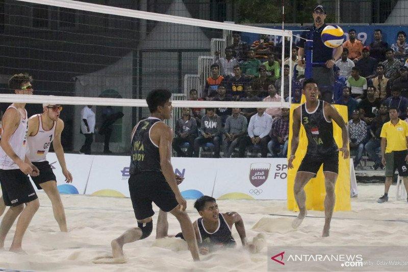 Indonesia hadapi Australia pada perempat final World Beach Games