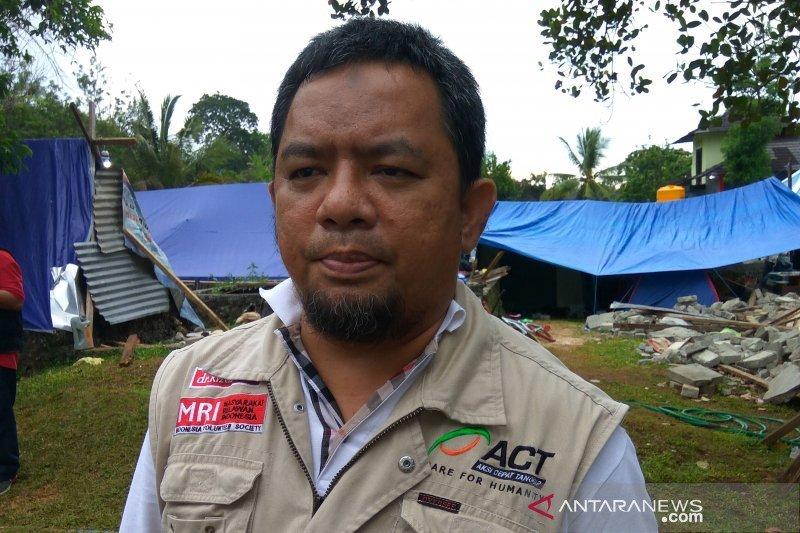 ACT beri pelayanan medis keliling untuk pengungsi gempa Ambon