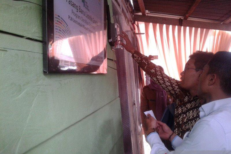 PLN UIW Sumbar resmikan 184 sambungan baru gratis bagi masyarakat kurang mampu